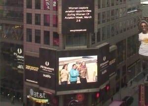 Women Of Aviation Worldwide Week Time Square New York