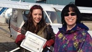 First Solo flight Winner 2013