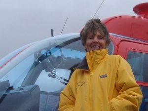 Jennifer Murray female helicopter pilot