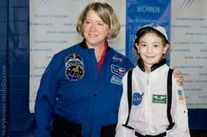 Female role models fly it forward